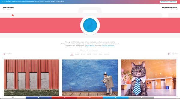 Gratisography, uno de los bancos de imágenes gratuitos