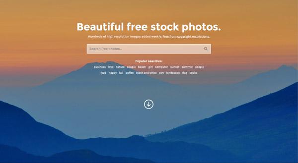 Stocksnap.io, uno de los bancos de imágenes gratuitos