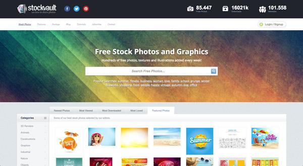 Stockvault, uno de los bancos de imágenes gratuitos