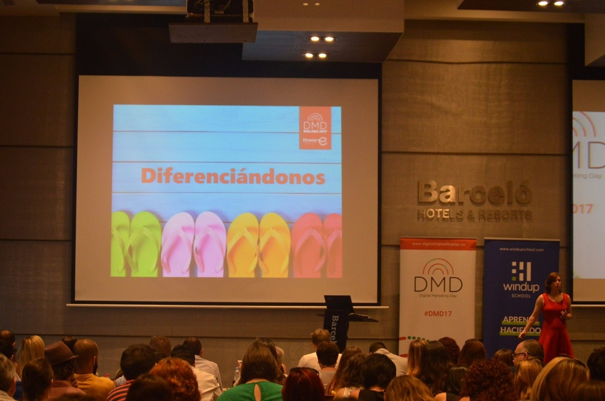 El storytelling del Digital Marketing Day 2017 en Málaga