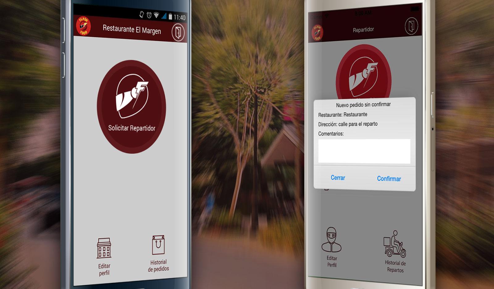 App nativa Android y iOS de Flashfood