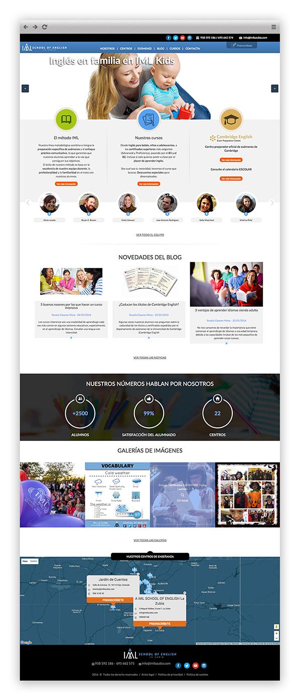 Desarrollo web a medida de IML La Zubia por App&Web