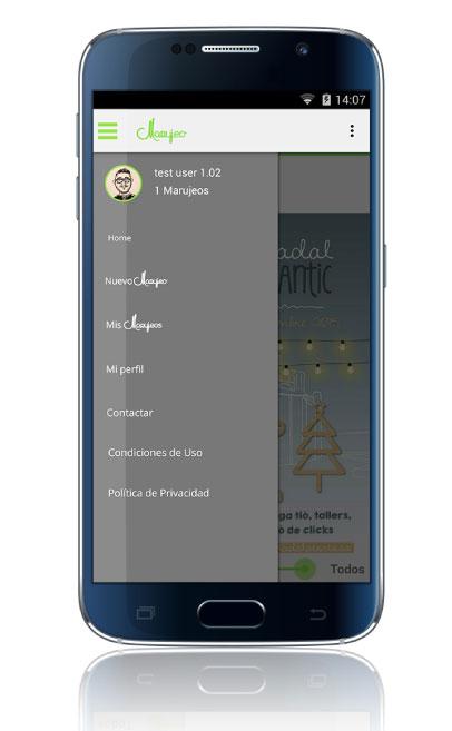 Desarrollo a medida de aplicación móvil de Marujeo por App&Web