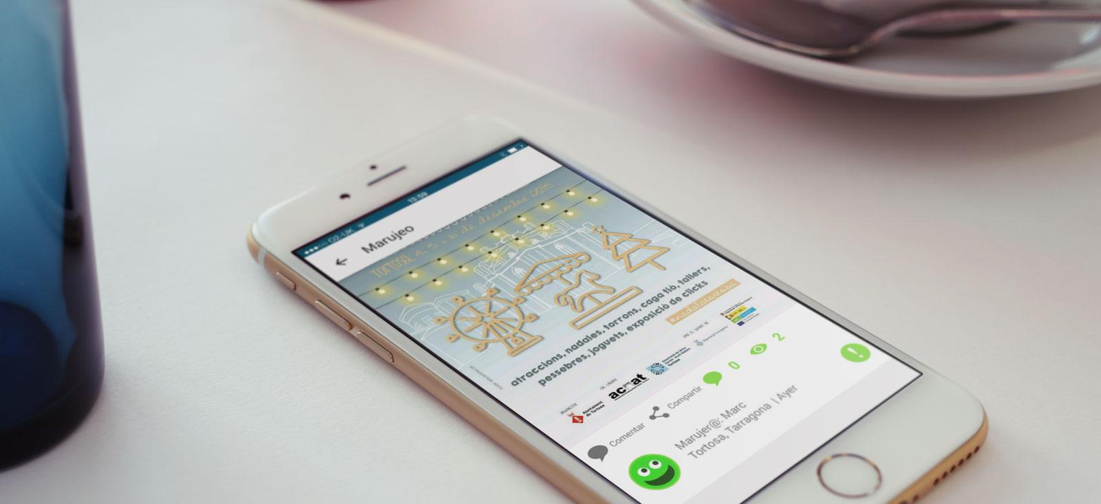 Desarrollo app nativa Android e iOS de Marujeo por App&Web
