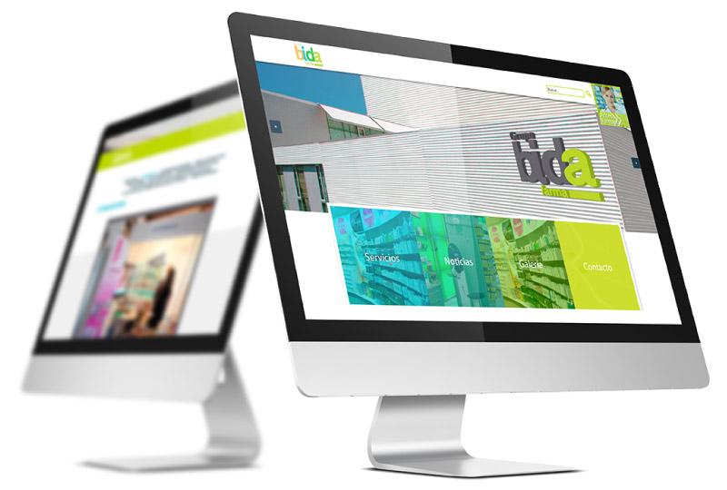 Página web y CMS de Grupo Bida Farma, uno de los proyectos destacados de App&Web