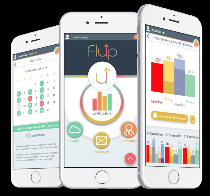 App nativa android y ios de Flup