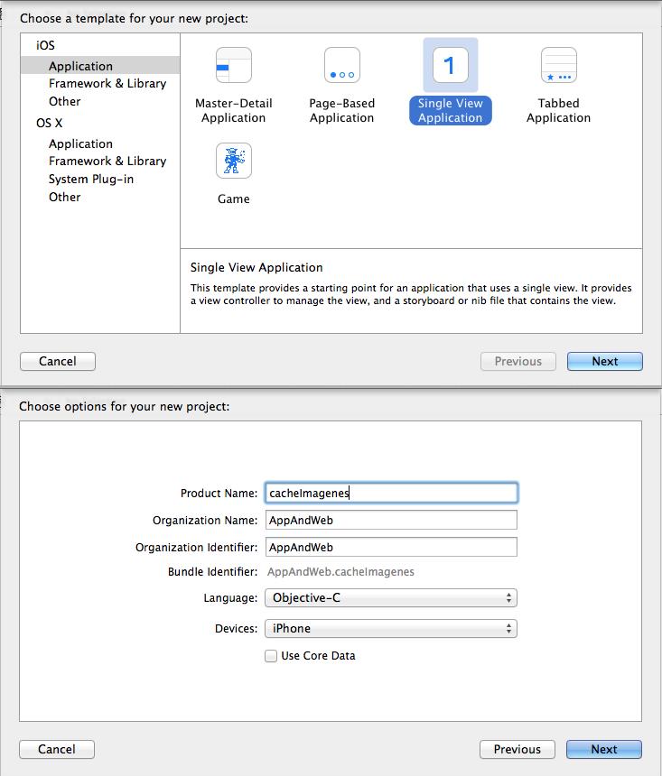 Carga asíncrona de Imágenes y posterior cacheo para dispositivos IOS
