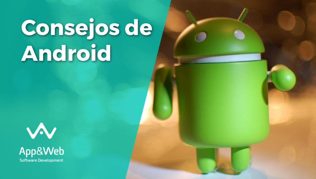 Portada del post de consejos clave Android