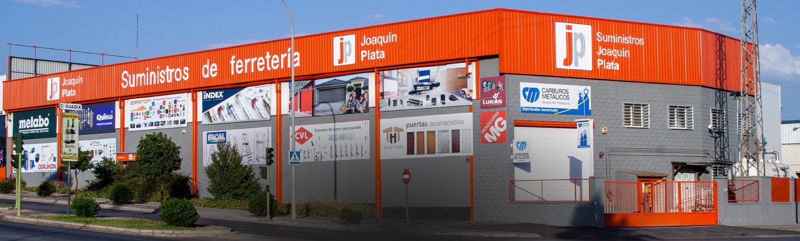 Desarrollo a medida de tienda online en Granada para Suministros Joaquín Plata