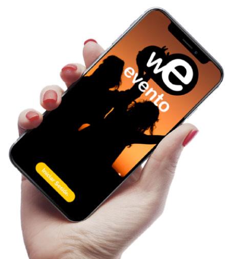 Weevento, proyecto destacado en desarrollo de app en Granada a medida