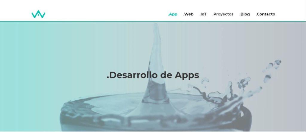 Fondo con vídeo de App&Web uno de las tendencias en diseño web