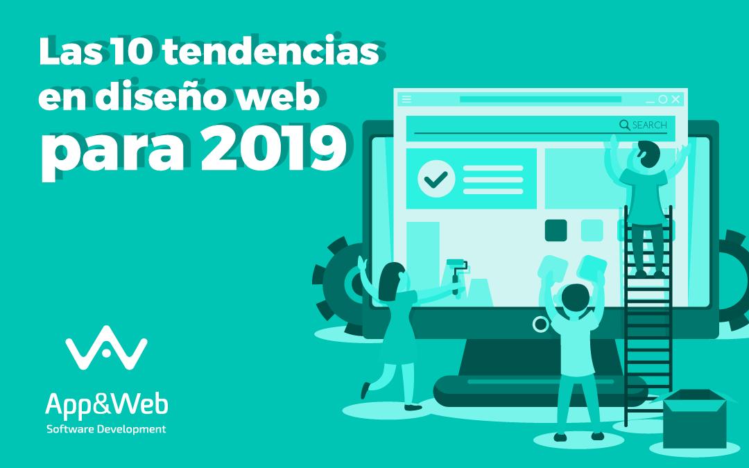 ¿Cuáles son las tendencias en diseño web para 2019?
