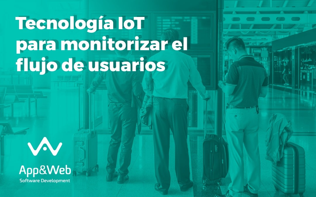 Tecnología IoT para monitorizar los flujos de pasajeros en el Aeropuerto de Mánchester