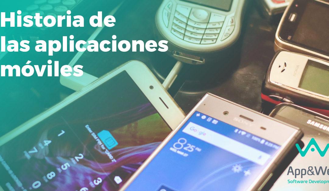 La historia de las aplicaciones móviles