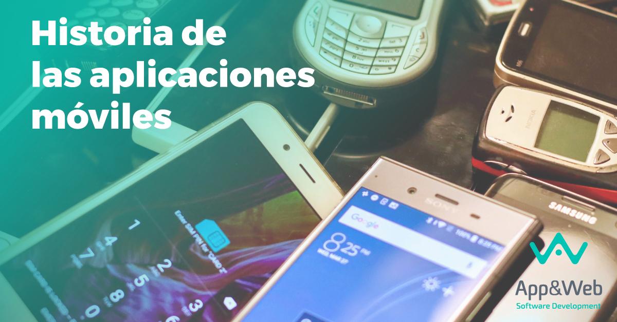 Historia de las aplicaciones móviles