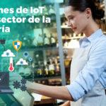 Soluciones de IoT en el sector de la hostelería