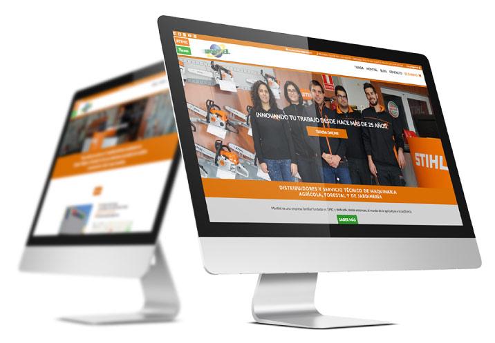 Desarrollo a medida de la tienda online de Montiel