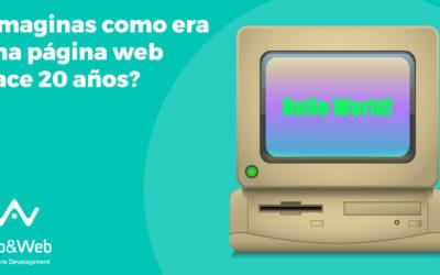 La evolución del diseño web