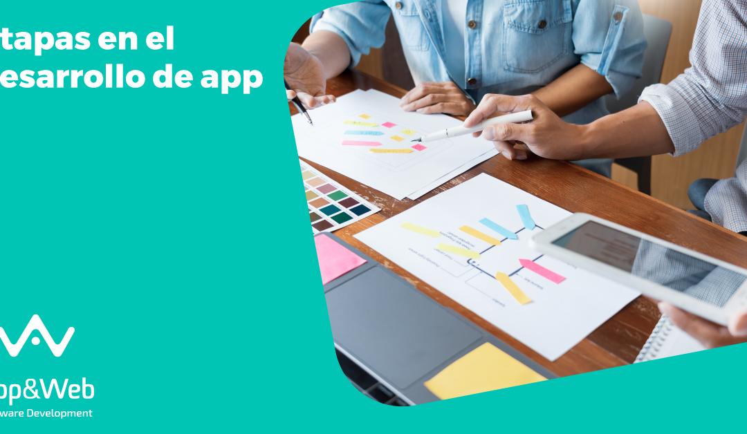 ¿Cuáles son las etapas en el desarrollo de aplicaciones?