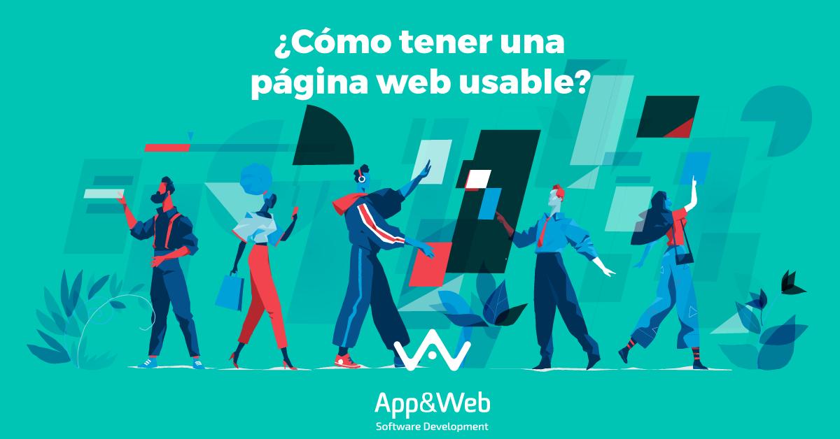 ¿Cómo crear una página web usable?