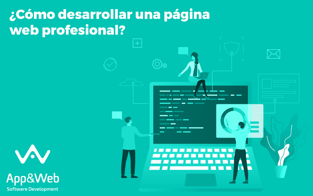 ¿Cómo crear una página web profesional?
