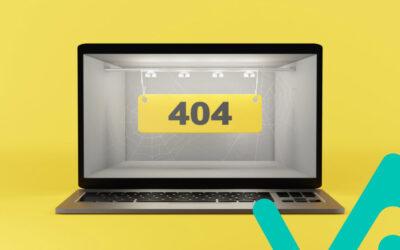 ¿Qué es un error 404 y cómo solucionarlo?